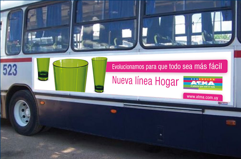 ATMA Campaña Publicitaria Vía Pública
