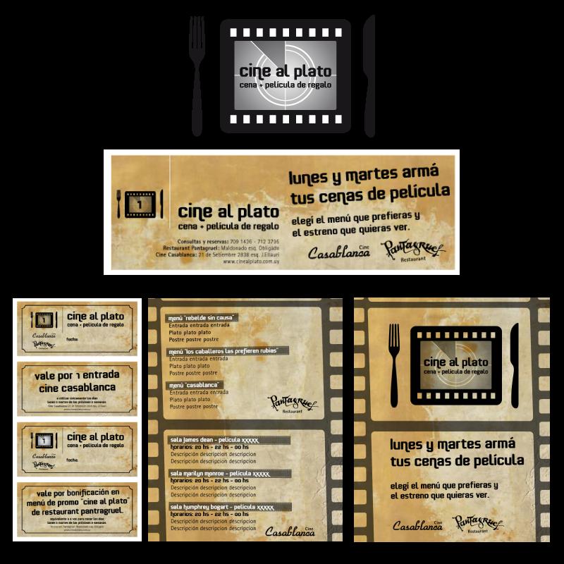 PANTAGRUEL Campaña Cine al plato